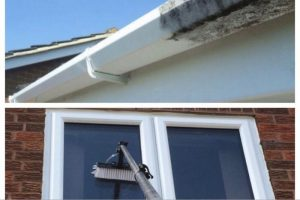Gutter and PVC cleaning